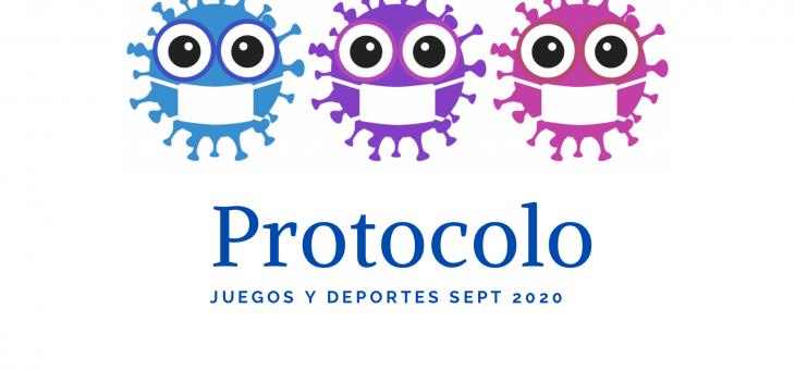 PROTOCOLO Juegos y Deportes sept.2020