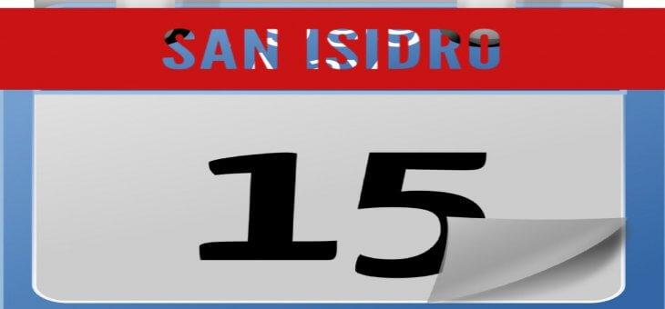 SABADO 15 DE MAYO SAN ISIDRO